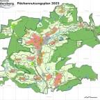 Flächennutzungsplan in einer Flächengemeinde . . .